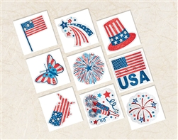Patriotic Body Jewelry | Party Supplies