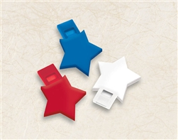 Patriotic Star Whistle | Party Supplies