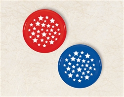 Patriotic Large Flying Discs | Party Supplies