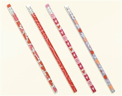 Valentine Bulk Prismatic Pencil Assortment | Valentines Day Pencils