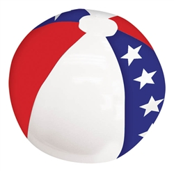 Patriotic Inflatable Beach Ball | Party Supplies