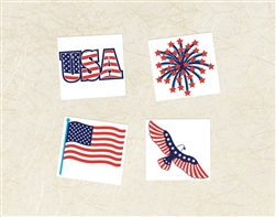 Patriotic Tattoo | Party Supplies