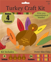 Turkey Craft Kit | Party Supplies