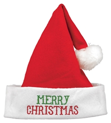 Merry Christmas Santa Hat | Party Supplies