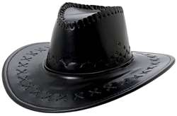 Cowboy Hat - Black | Party Supplies