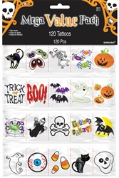 Halloween Tattoo MVP Favors