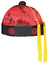 Chinese Mandarin Red Hat