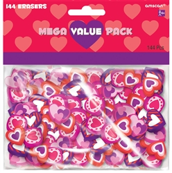 Valentine's Day Eraser Mega Value Pack | Valentine's Day Eraser