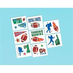 Football Tattoo | Football Party Items