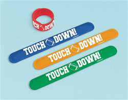 Football Slap Bracelet | Party Supplies