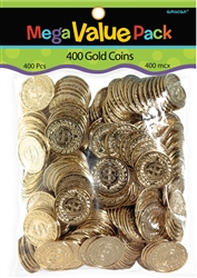 Gold Coins Mega Value Pack Favors | St. Patrick's Day Gold Coins