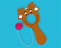 Christmas Reindeer Plastic Bulls-Eye Game | Party Supplies