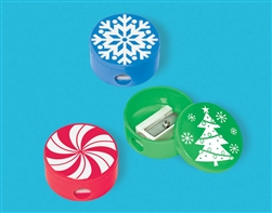 Christmas Pencil Sharpeners | Party Supplies