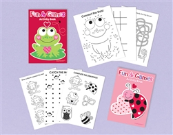 Valentine Activity Pad | Valentine's Day Supplies