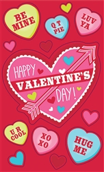 Valentine Cards w/Stickers | Party Supplies