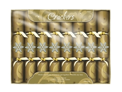 Elegant Entertaining Gold Deluxe Crackers | Party Supplies