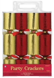 Red/Gold Crackers | Party Favors