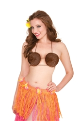 Coconut Bra | Luau Party Supplies