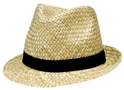 Straw Fedora | Party Supplies