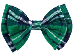 St. Patrick's Day Plaid Bow Tie | St. Patrick's Day Bow Tie