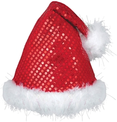 Sequined Santa Hat | Party Supplies