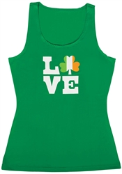 I Love St. Patrick's Day Tank Top | St. Patrick's Day Tank Top