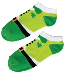 St. Patrick's Day No Show Socks - Leprechaun | St. Patrick's Day Socks