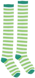 St. Patrick's Day Knee High Socks - Striped | St. Patrick's Day Socks