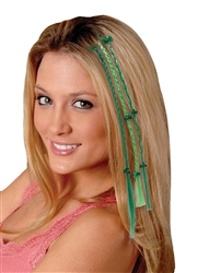 St. Patrick's Day Braided Hair Extensions  | party supplies