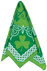 St. Patrick's Day Bandana | party supplies