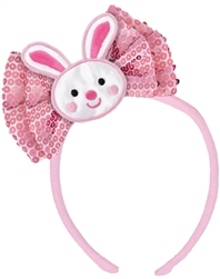 Easter Bunny Bow Headband | Party Supplies