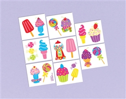 Sweet Treats Scented Tattoos | Party Supplies
