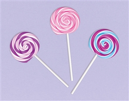 Sweet Treats Lollipop Eraser Pack | Party Supplies
