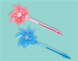 Wind-Up Pinwheel Pen | Party Supplies