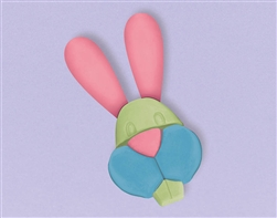 Rabbit Shaped Chalk | Party Supplies