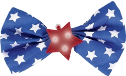 Patriotic Light-Up Bow Tie | Party Supplies