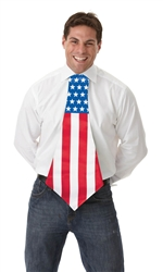 Patriotic Jumbo Tie | Party Supplies