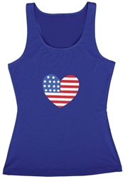 Patriotic Tank Top - Women's | Party Supplies