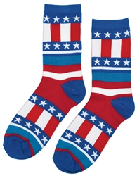 Patriotic Crew Socks | Party Supplies