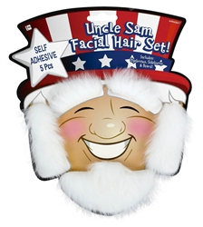 Uncle Sam Facial Hair | Party Supplies