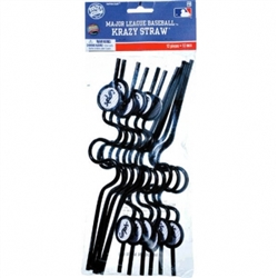 Chicago White Sox Krazy Straw Favors | Party Supplies