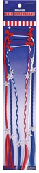 Patriotic Braided Hair Extensions | Party Supplies