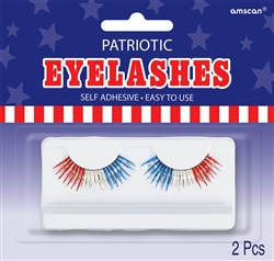 Patriotic Eyelashes | Party Supplies
