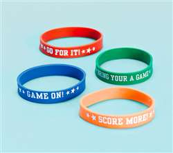 Football Attitude Bracelet | Party Supplies
