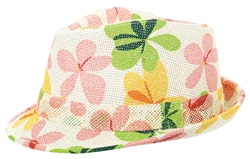 Printed Fedora | Party Supplies