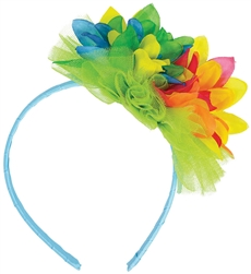 Bright Floral Headband | Party Supplies