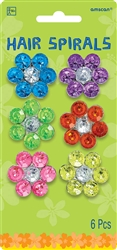 Summer Hair Spirals | Party Supplies