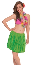 High Low Skirt w/Fringe | Luau Party Supplies