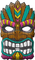 Tiki Mask | Luau Party Supplies
