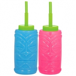 Luau Sipper 22 oz. Cups | Party Supplies